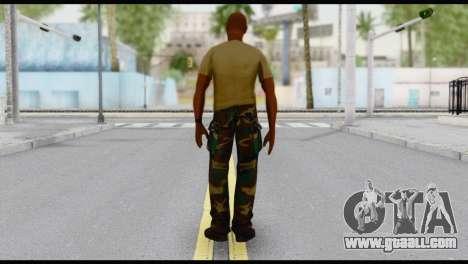 Army Vic for GTA San Andreas second screenshot