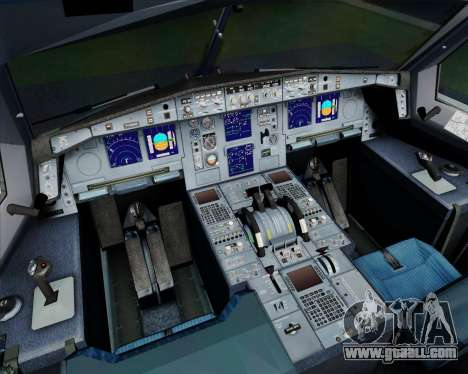 Airbus A330-300 Philippine Airlines for GTA San Andreas interior