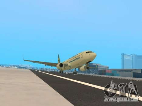 Boeing 737-84R Ukraine International Airlines for GTA San Andreas left view