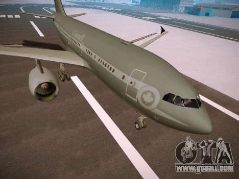 Canadian Forces Airbus CC150 Polaris for GTA San Andreas left view