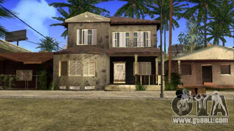 New HD textures houses on grove street v2 for GTA San Andreas ninth screenshot