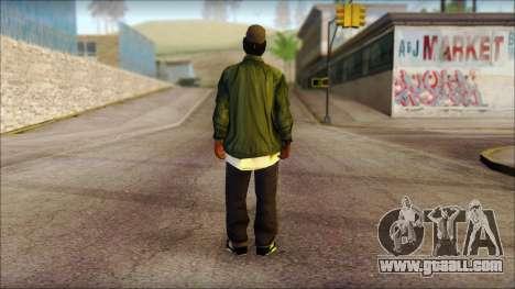 Eazy-E Green Skin v1 for GTA San Andreas second screenshot