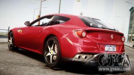 Ferrari FF 2011 v1.5 for GTA 4 left view