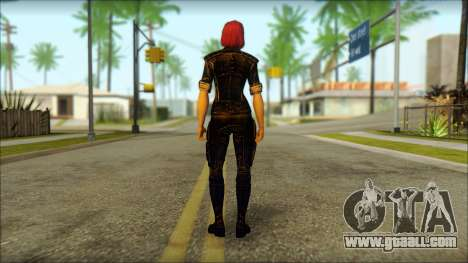 Mass Effect Anna Skin v8 for GTA San Andreas second screenshot