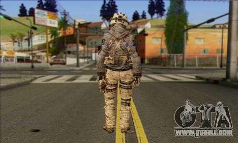 Task Force 141 (CoD: MW 2) Skin 13 for GTA San Andreas second screenshot
