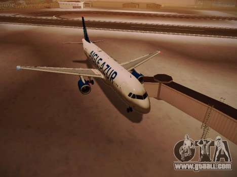 Airbus A320-211 Aigle Azur for GTA San Andreas left view