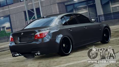 BMW M5 E60 v1 for GTA 4 left view