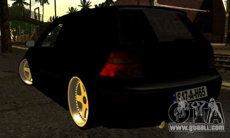 Volkswagen Golf IV for GTA San Andreas left view