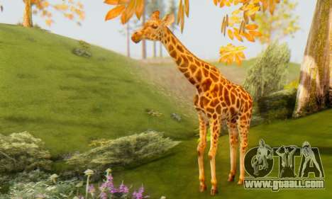 Giraffe (Mammal) for GTA San Andreas
