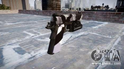 Gun Kimber 1911 Siberia for GTA 4 second screenshot