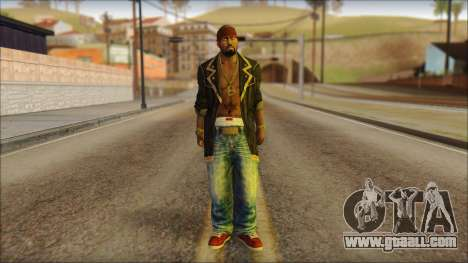 New Grove Street Family Skin v1 for GTA San Andreas
