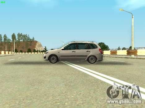Lada Kalina 2 Wagon for GTA San Andreas back view