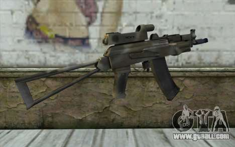 AK74U from Battlefield 2 for GTA San Andreas second screenshot
