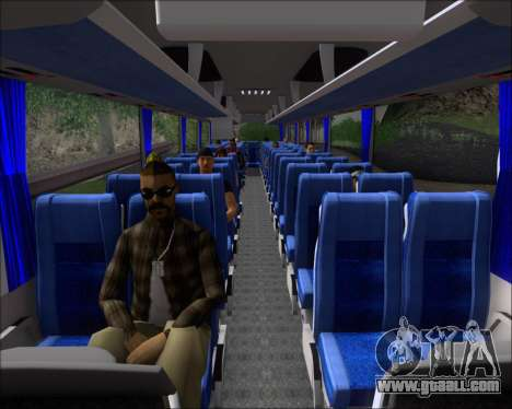 MAN Lion Coach Rural Tours 2790 for GTA San Andreas interior