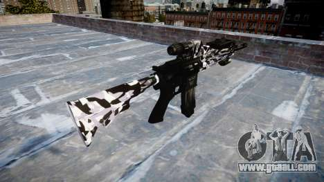 Automatic rifle Colt M4A1 siberia for GTA 4 second screenshot