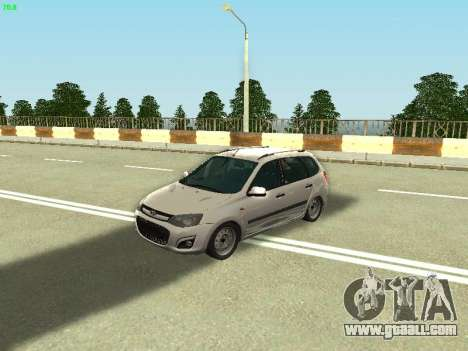 Lada Kalina 2 Wagon for GTA San Andreas