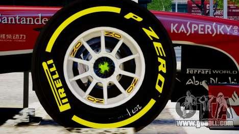 Ferrari F138 v2 for GTA 4 back view