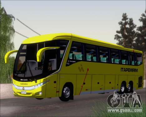 Marcopolo Paradiso 1200 G7 Viacao Itapemirim for GTA San Andreas left view