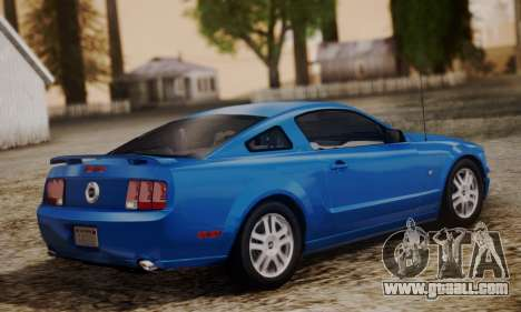 Ford Mustang GT 2005 v2.0 for GTA San Andreas left view