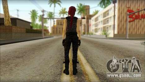 Tomb Raider Skin 14 2013 for GTA San Andreas second screenshot