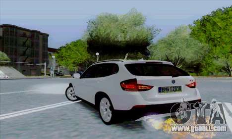 Bmw X1 for GTA San Andreas back view