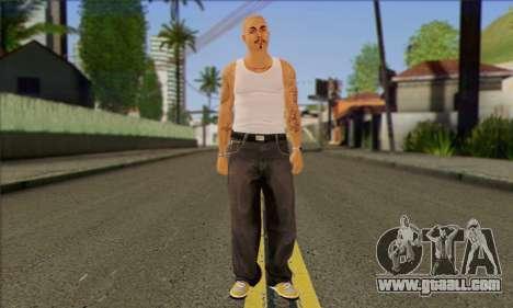 Vagos from GTA 5 Skin 2 for GTA San Andreas