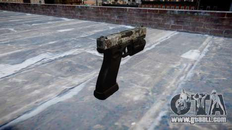 Pistol Glock 20 ghotex for GTA 4 second screenshot