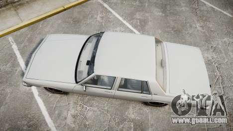 Chevrolet Impala 1985 for GTA 4 right view