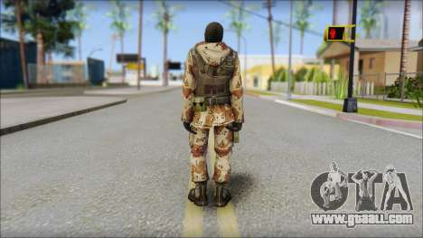 Soviet Soldier for GTA San Andreas second screenshot