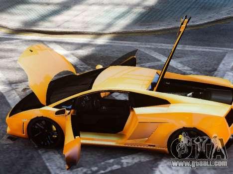 Lamborghini Gallardo LP560-4 for GTA 4 back view