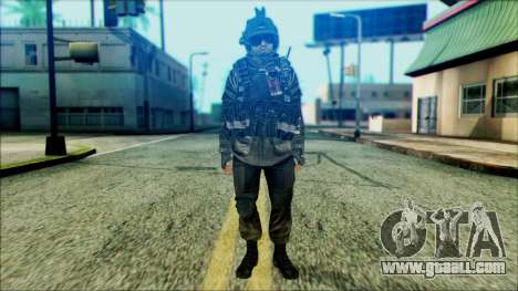 Soldiers airborne (CoD: MW2) v5 for GTA San Andreas