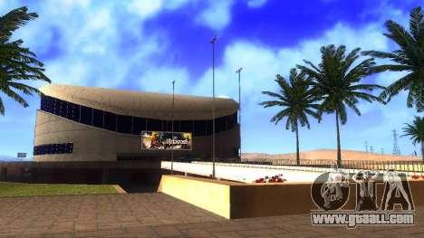 HD textures stadium in Las Venturas for GTA San Andreas third screenshot