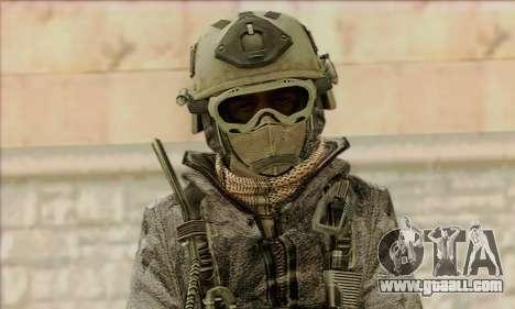 Task Force 141 (CoD: MW 2) Skin 1 for GTA San Andreas third screenshot
