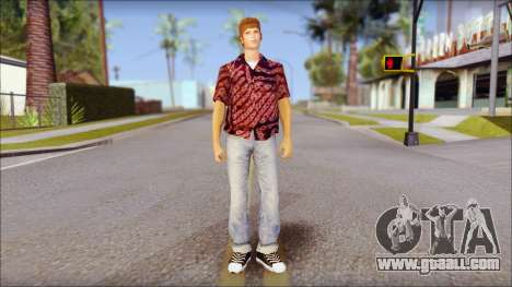 Marty from Back to the Future 1955 for GTA San Andreas