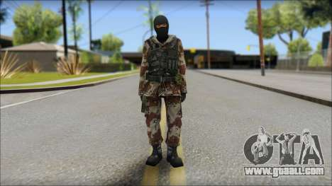 Soviet Soldier for GTA San Andreas
