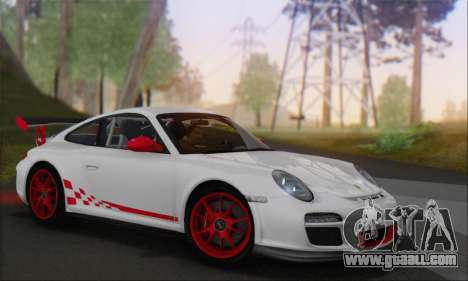 Porsche 911 GT3 2010 for GTA San Andreas side view