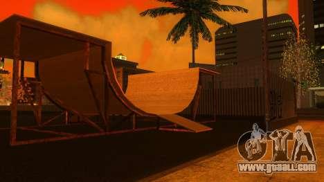 HD Textures skate Park and hospital V2 for GTA San Andreas eighth screenshot