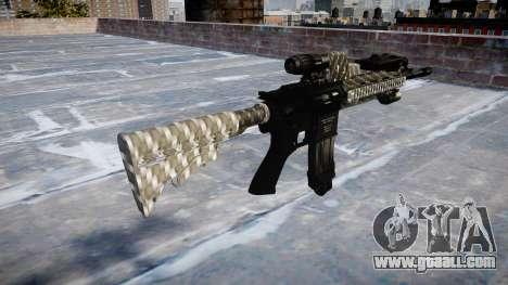 Automatic rifle Colt M4A1 carbon fiber for GTA 4 second screenshot