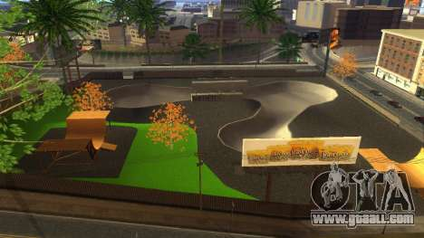 HD Textures skate Park and hospital V2 for GTA San Andreas seventh screenshot