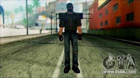 Manhunt Ped 18 for GTA San Andreas