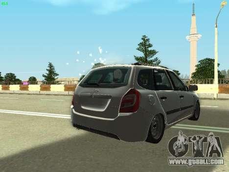 Lada Kalina 2 Wagon for GTA San Andreas upper view