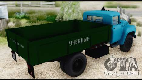 ZIL 130 Training for GTA San Andreas left view