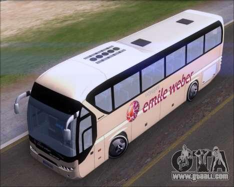 Neoplan Tourliner Emile Weber for GTA San Andreas back view