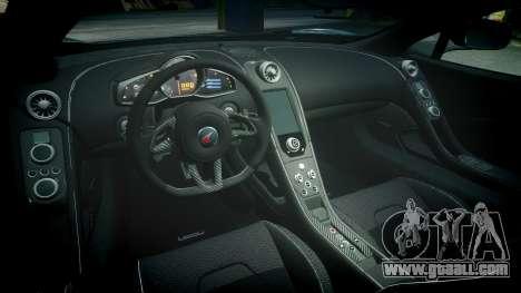 McLaren 650S Spider 2014 [EPM] Bridgestone v3 for GTA 4 inner view