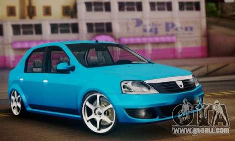 Dacia Logan 1.6 for GTA San Andreas