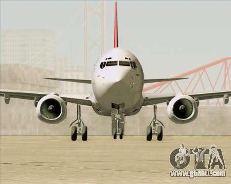 Boeing 737-838 Qantas for GTA San Andreas bottom view