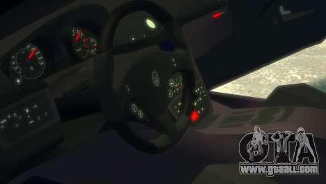 Maserati Gran Turismo MC Stradale 2014 for GTA 4 inner view