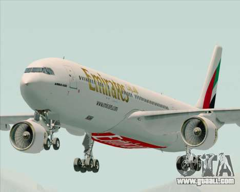 Airbus A330-300 Emirates for GTA San Andreas