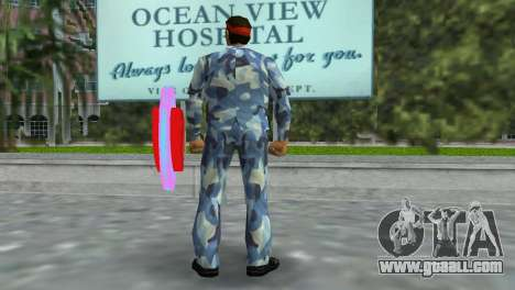 Camo Skin 11 for GTA Vice City third screenshot