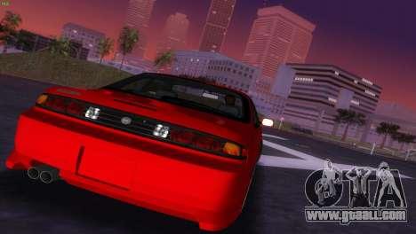 Nissan Silvia S14 RB26DETT Black Revel for GTA Vice City side view